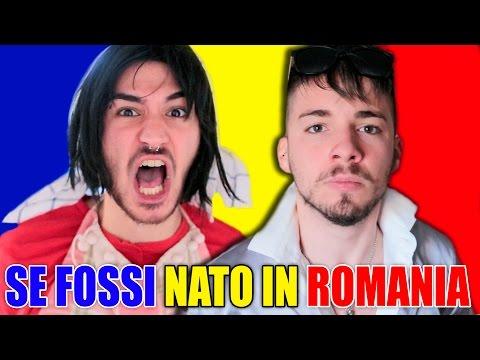 SE FOSSI NATO IN ROMANIA 🇷🇴   Matt & Bise