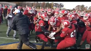 Muskegon celebrates regional football title after 49-10 rout of East Grand Rapids