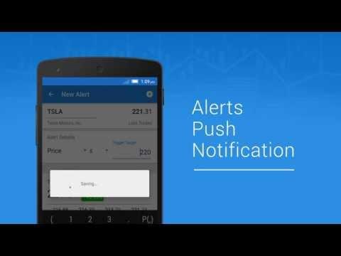 Ticker : Stocks Portfolio Manager Mobile App