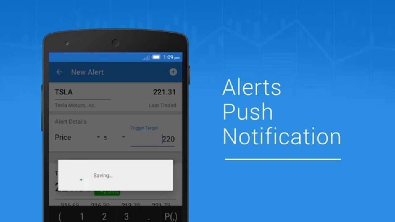 ticker stocks portfolio manager mobile app youtube