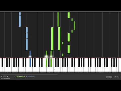 How To Play Swallowed In The Sea By Coldplay On Piano Youtube