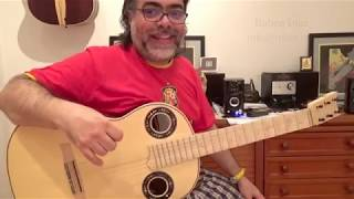 Lotus Feet by John Mc. Laughlin / modern guitar lessons Skype/ Ruben Diaz