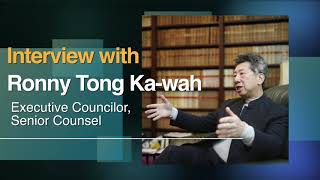 Interview with Ronny Tong Ka wah