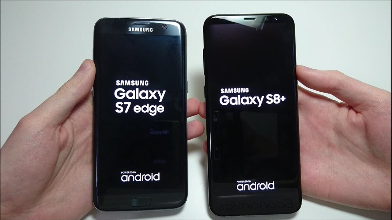 Samsung Galaxy S8+ vs Galaxy S7 edge Speed Test ...