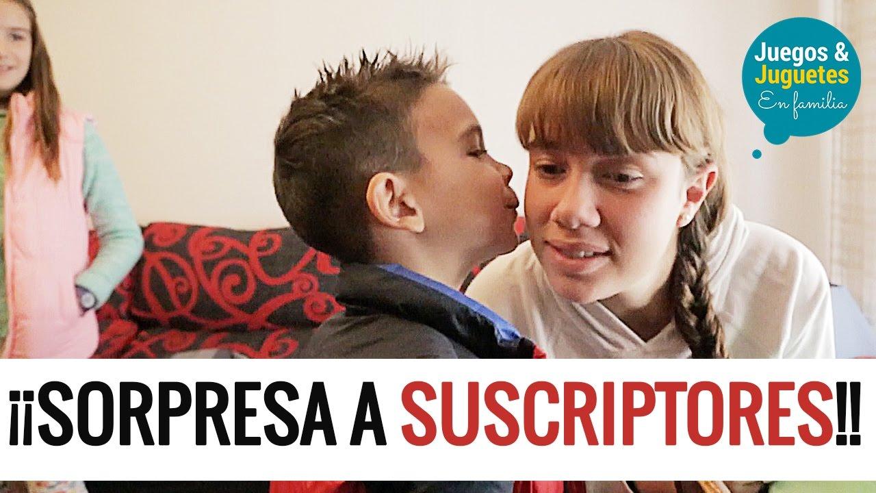 Sorprendiendo A Fans Juegos Y Juguetes En Familia Youtube