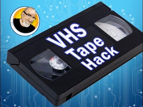 VHS Tape Hack!