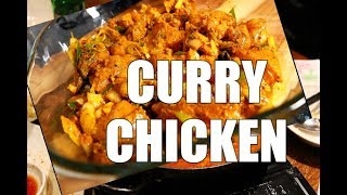 How To PREPARE your CURRY CHICKEN Before Cooking it-STUDENT RECIPE  | Sunday Dinner Recipe