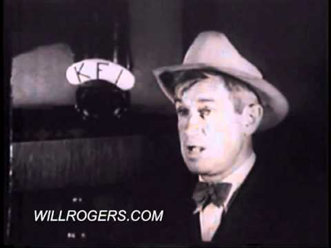 Will Rogers - Bacon, Beans, and Limousines