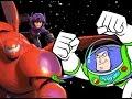 Big Hero 6's Hiro Hamada(Buzz Lightyear of Star Command Style)