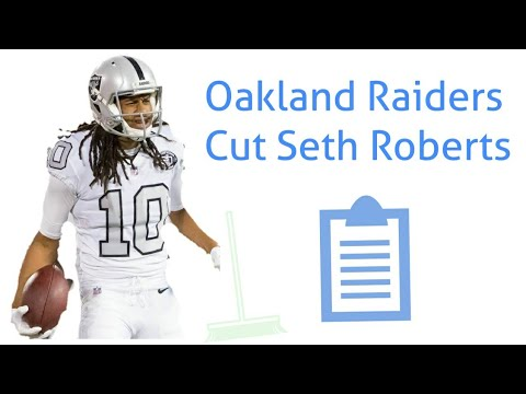 low priced 5f673 e2b4a Seth Roberts Released by Oakland Raiders