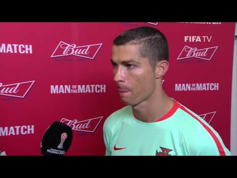 Cristiano Ronaldo: FIFA Man of the Match - Match 5: Russia v Portugal