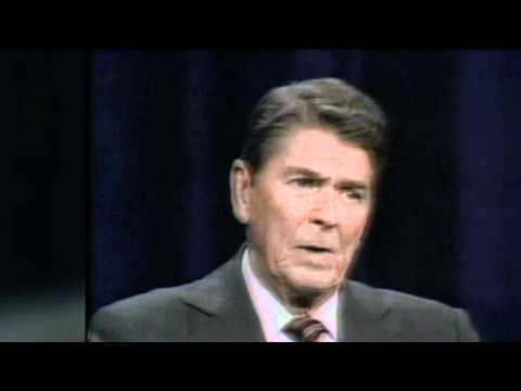 Ronald Reagan debate inexperience and youth of his opponent