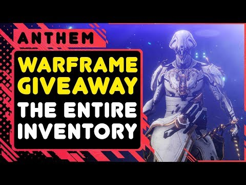 Warframe Giveaway \\ Entire INVENTORY thumbnail
