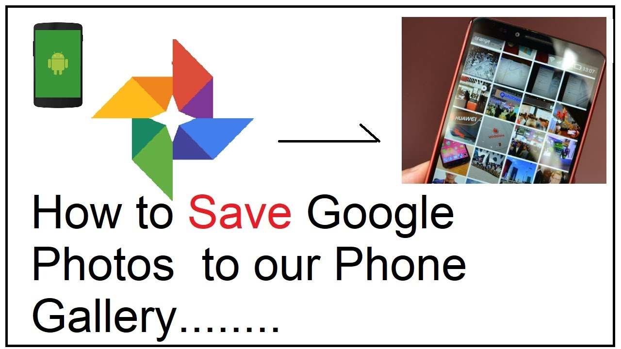 b9eb210442d8 how to save google photos to gallery - YouTube