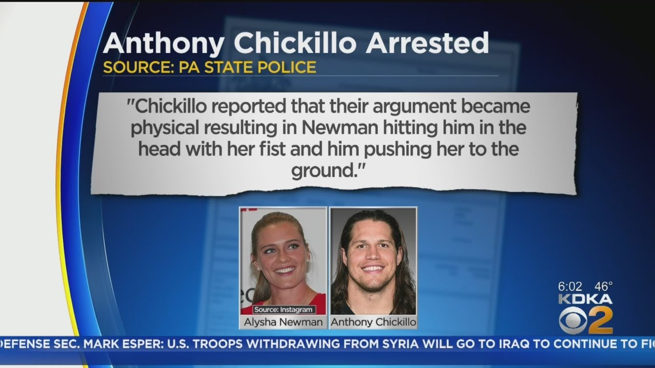 Steelers Linebacker Anthony Chickillo Arrested