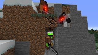 Minecraft Speedrunner VS 2 Hunters