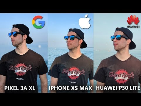 Huawei P30 Lite Vs Google Pixel 3a XL Vs IPhone XS Max Camera Comparison