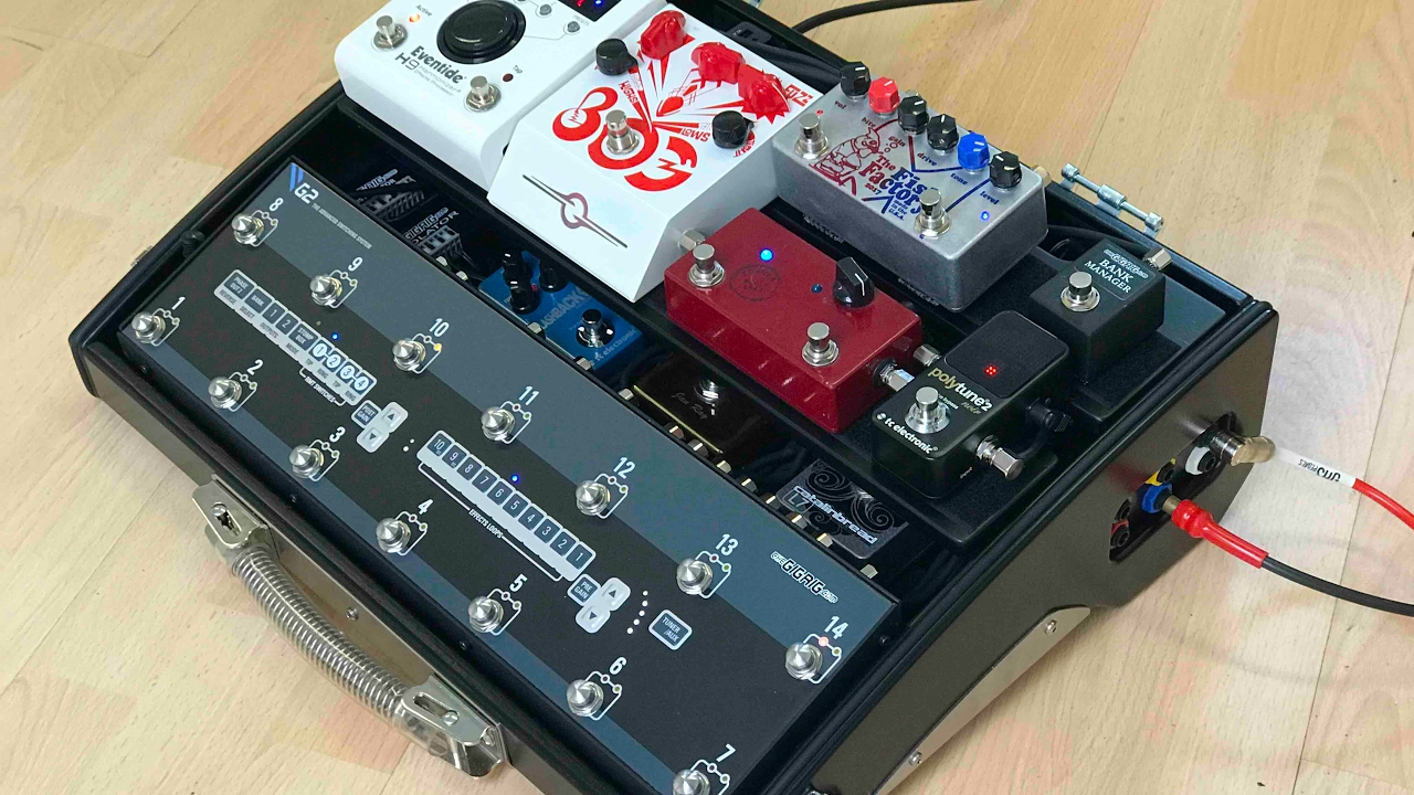 Josh Smith Pedalboard Build