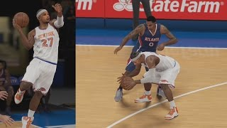 NBA 2K15 PS4 My Career - Lob off the Glass!