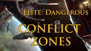 ELITE DANGEROUS - CONFLICT ZONES FULL TUTORIAL