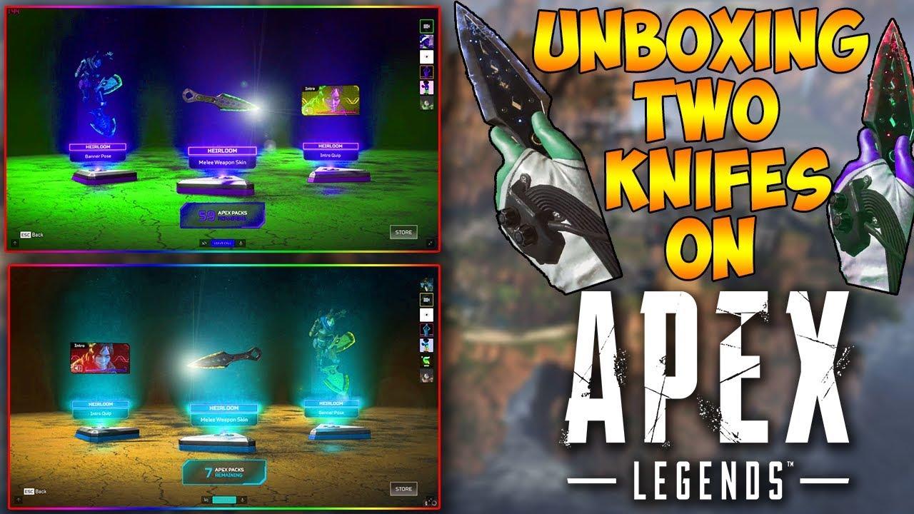 wraith apex legends knife