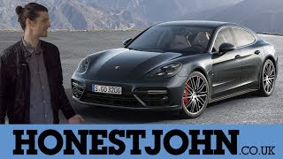 Car review in a few | new Porsche Panamera 2018