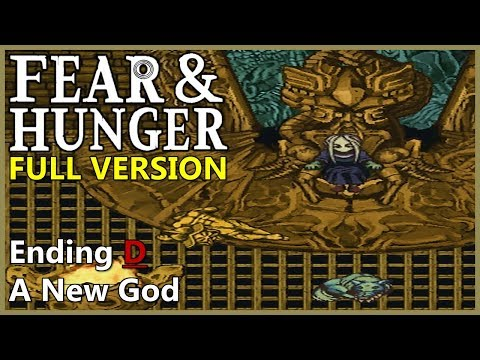 Ending D - A New God (All Choices) | Fear & Hunger v1.1.2 - [Part 26]