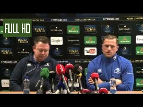 Matt O'Connor & Jamie Heaslip | Pre Leinster v Bath conor mcgregor highlights