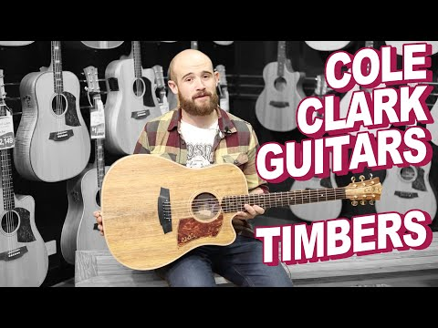 Cole Clark Guitars Timbers Overview By DW Music