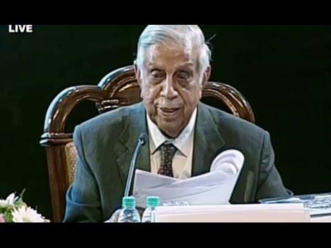 Constitution Day Celebration Full Speech Manepalli Narayana Rao Venkatachaliah November 26 ,2016