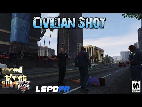 Secondary Callouts - Civilian shot - LSPDFR GTA 5 Police Mod