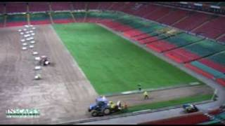 Inscapes Millennium Stadium Pitch Construction