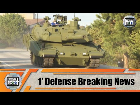 Turkey unveils new Altay MBT tank design Leopard 2A4 upgrade Firtina 2 155mm tracked howitzer