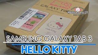 Tableta Samsung Galaxy Tab 3 de HELLO KITTY - Android - Mariana Malex