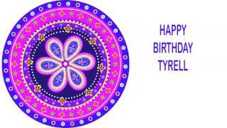Tyrell   Indian Designs - Happy Birthday