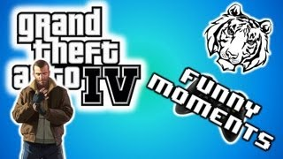GTA IV Funny Moments 5 - Swing Set Glitch and the Magic Schoobis!