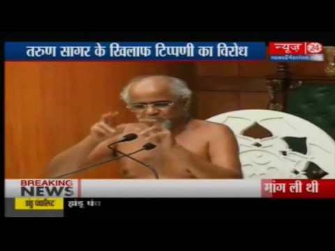 Vishal Dadlani mocks Jain guru Tarun Sagar on Twitter, ends up quitting politics