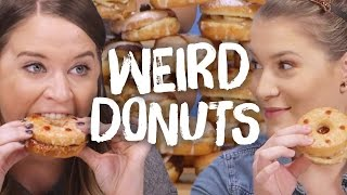 7 Weird Types of Donuts (Cheat Day)