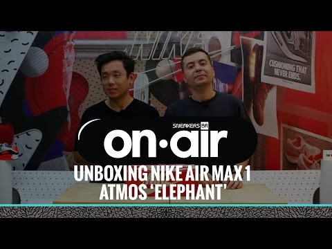 "timeless design a3e00 c58fe 6 - Unboxing Nike Air Max 1 X atmos ""Elephant"