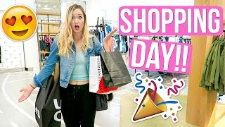 SHOPPING DAY W/ ASHLEY!!! AlishaMarieVlogs
