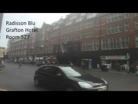 Hotel Room Review - Grafton Hotel, Radisson Blu, London