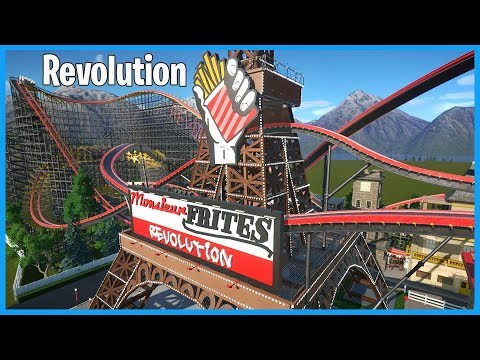 Monsieur Frites: Revolution! Coaster Spotlight 445 | Contest Entry #PlanetCoaster