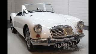 MGA Cabriolet 1961 -VIDEO- www.ERclassics.com