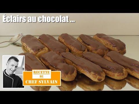 Éclair-au-chocolat---comme-chez-le-pâtissier-!