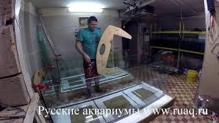 як зробити акваріум на 1000 літрів своїми руками
