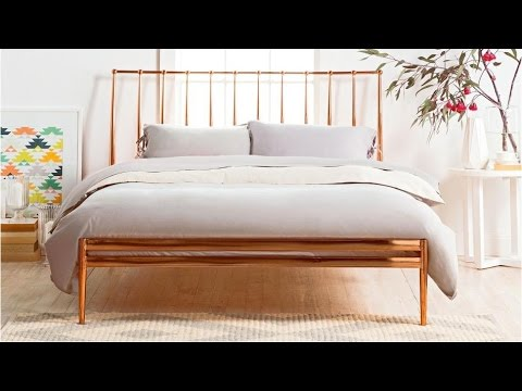 Copper Bed Frame - YouTube