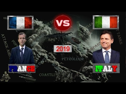 France vs Italy - Army / Military Power Comparsion 2019