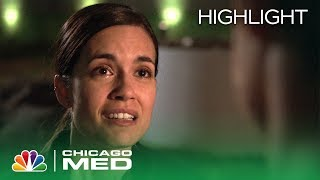 Manning Tells Halstead That She Remembers the Night of the Accident - Chicago Med