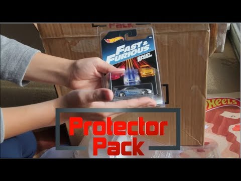 HOT WHEELS PROTECTOR PACK REVIEW! A Great Way To Store Your Diecast Collection!!