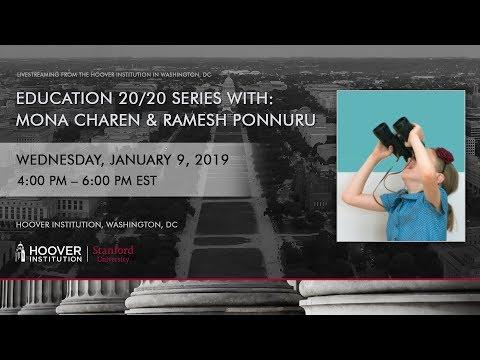Education 20/20 Speaker Series with Mona Charen and Ramesh Ponnuru